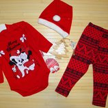 Новогодний комплект для малышей Микки Минни