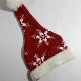 Новогодняя шапка Деда Мороза для карнавала бу