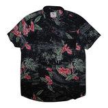 Мужская рубашка безрукавка в цветочек Cedarwood State L
