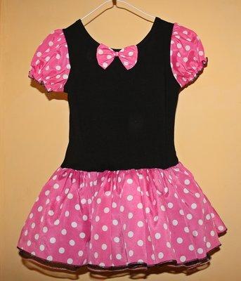 платье Мини Маус 5-7лет