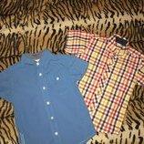 Фирменные рубашки с коротким рукавом р.3-4 года