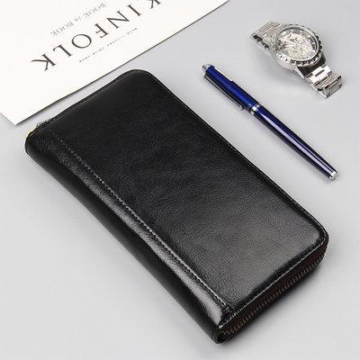 Мужской клатч портмоне Classic из натуральной кожи
