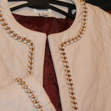Куртка курточка River Island 140 см 10 лет кожанка