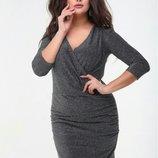 Праздничное платье люрекс, Размер 48-50.
