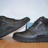 Зимние кожаные ботинки Gex.