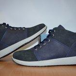 Зимние кожаные ботинки Timberland.