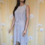 Платье миди с ассиметричным низом вискоза collection london 12 размер