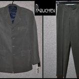 Брендовий костюм чоловічий Paruchev M Болгарія пиджак брюки мужские