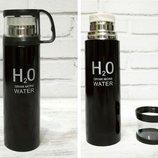 Термос с чашкой 500мл H2O