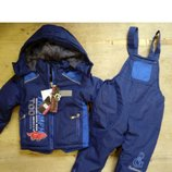 Термо-Комбинезон с курткой на меховой подкладке Венгрия Размер 98