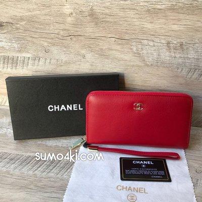 45fd15ba1d5f Женский кожаный кошелёк Chanel Шанель красный клатч портмоне: 1150 ...