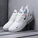 Оригинал. Бесплатная доставка. Кроссовки Nike Air Max 270 Custom белые KS 773