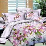 Комплекты постельного белья из бязи ранфорс лилии