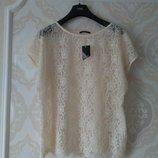Размер 16,16-18 Шикарная фирменная нарядная блузка блуза