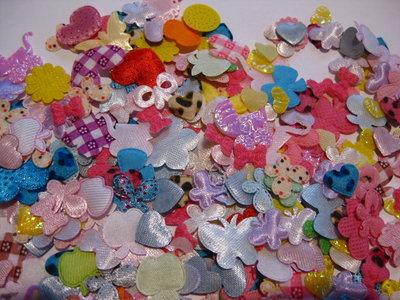Фигурки для скрапбукинга, подделок, рукоделия цветы, бабочки, сердечки