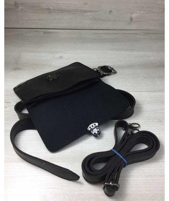 067e4b7d981b Женская сумка на пояс- клатч Арья черного цвета: 290 грн - клатчи и маленькие  сумки в Полтаве, объявление №19723595 Клубок (ранее Клумба)
