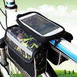 Велосумка на раму для мобильного