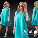 Нежное женское платье 24202 цвета