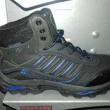 Зимние ботинки мужские bona на меху натуральный нубук р. 41-46