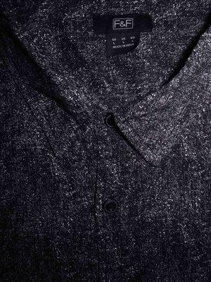 Мужская рубашка безрукавка меланж F&F L