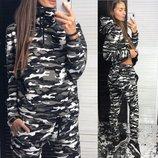 Стильный теплый костюмы Лд 139