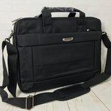 Мужская сумка- портфель. Нейлон. Отличное качество. Сумка для ноутбука, документов.КС19