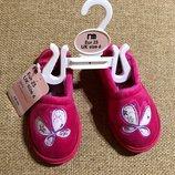 Акция Шикарные тапочки от Mothercare из Англии