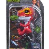 Fingerlings Ripsaw WowWee Dinosaur Интерактивный динозавр на палец красный оригинал