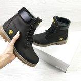 Timberland ботинки женские зимние коричневые 6940