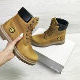 Timberland ботинки женские зимние рыжие 6942