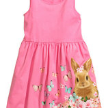 Платье H&M девочке 6-8 лет
