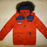 Шикарная яркая деми куртка C&A на мальчика р. 146 10-11 лет Германия