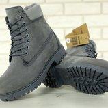 Зимние женские ботинки Timberland, ботинки с натуральным мехом