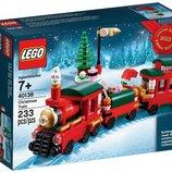 лего Эксклюзив конструктор LEGO Рождественский поезд 40138
