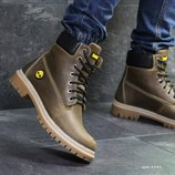 Timberland ботинки мужские зимние коричневые 6948