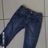 Zara baby 6-9міс 74см джинси