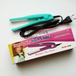 Дорожный мини-утюжок для волос с керамическим покрытием