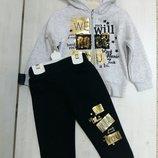 Теплий спортивний костюм для дівчаток 3-4-5-6т