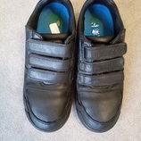 Туфли-Россовки кожаные фирмы Clarks р.33,5 стелька 20,5см