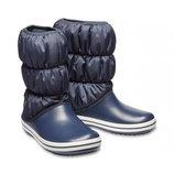 Зимние сапоги Crocs Winter Puff Boot, W5, W7, W8, W9, W10, W11