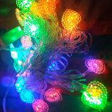 Гирлянда листья LED светодиодная на 30 лампочек