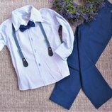 Нарядний костюм джентельмен 5-8л.
