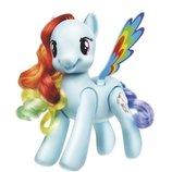 интерактивная игрушка проворная пони Рейнбоу Дэш My Little Pony Hasbro Сша оригинал