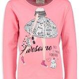 Розовый реглан для девочки Lc Waikiki / Лс Вайкики Awesome