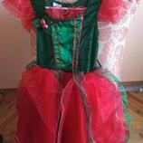 Платье феи новогоднее, карнавальное Ladybird на 6-7 лет