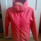 Бомбезная куртка - безрукавка, еврозима, брендовая, рост 140 / 152.