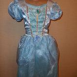 Карнавальное новогоднее платье, платье Снежинки, Зимы на 6-8 лет в идеале от Disney