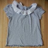 Фирменная футболка next малышке 4-5 лет состояние отличное.