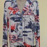 Итальянский Стильный трикотажный пиджак