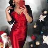 3 цвета Очаровательное и эффектное платье миди